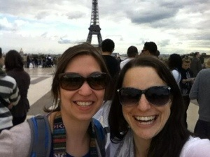 Us at the Eiffel Tower