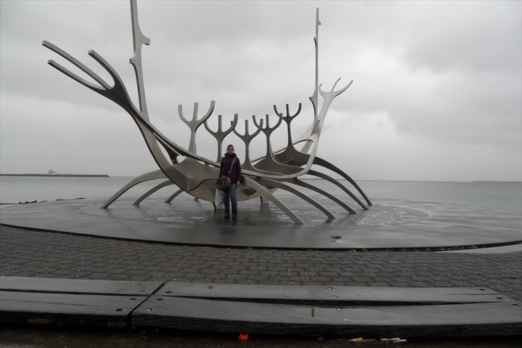 Me at the Sun Voyager