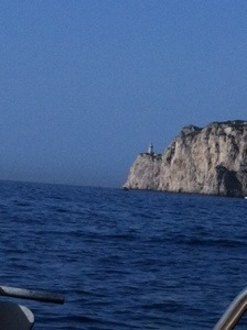 lighthouse of Capri