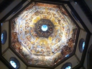 ceiling of Il Duomo